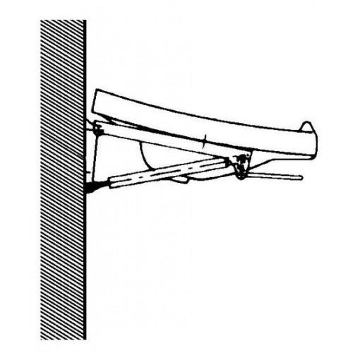 Ρυθμιζόμενο χειροκίνητο στήριγμα ΑΜΕΑ IDEAL STANDARD J511067