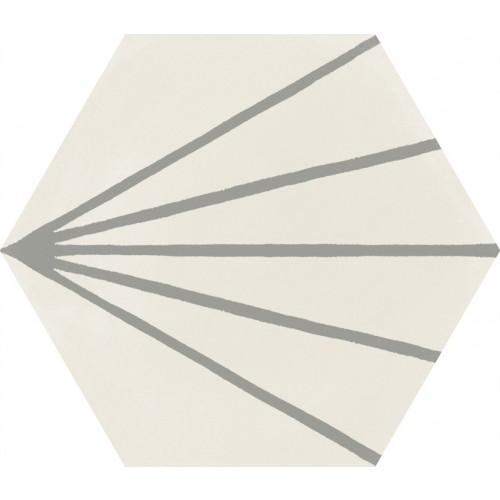 STRATFORD WHITE DECORO TRATTO 21X18,2