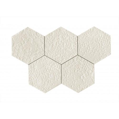 STRATFORD WHITE STRUTTURA CROCHET 3D 21X18,2